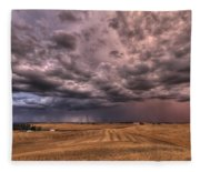 Path To The Storm Fleece Blanket