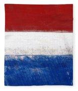 Side Lines Fleece Blanket