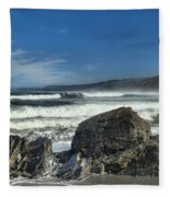 Patrick's Rocks Fleece Blanket