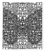 Pattern 35 - Intricate Exquisite Butterfly Pattern Art Prints Fleece Blanket