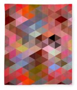 Pattern Of Triangle Fleece Blanket