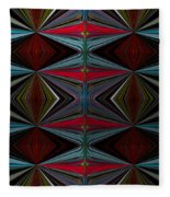 Patterned Abstract 2 Fleece Blanket