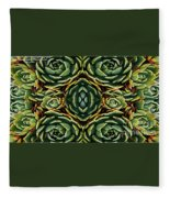 Patterns Fleece Blanket
