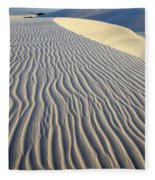 Patterns In The Sand Brazil Fleece Blanket