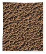 Patterns In The Sand Fleece Blanket