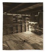 Patterns Of Light Fleece Blanket