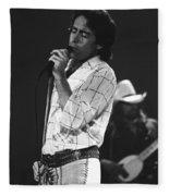 Paul And Boz 1977 Fleece Blanket
