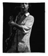 Paul Rocking In Spokane In 1977 Fleece Blanket