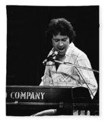 Bad Company Live In Spokane 1977 Fleece Blanket