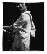 Paul On The Burnin Sky Tour 1977 Spokane Fleece Blanket