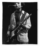 Paul Rocks Spokane 1977 Fleece Blanket