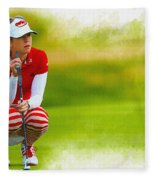 Paula Creamer - The Ricoh Women British Open Fleece Blanket