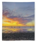 Pavilion Sunrise Fleece Blanket