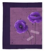 Pavot - S02c09b Fleece Blanket