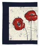 Pavot - S05-01a Fleece Blanket