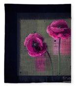 Pavot - S1c12j033036161bl1 Fleece Blanket