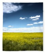 Pawnee Grasslands Fleece Blanket