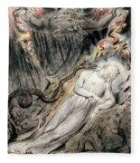 Pd.20-1950 Christs Troubled Sleep Fleece Blanket