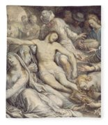 The Lamentation Over The Dead Fleece Blanket