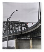 Peace Bridge 00a  Fleece Blanket