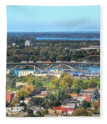 Peace Bridge Autumn 2013 Fleece Blanket