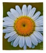 Peace Daisy Fleece Blanket