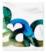 Peace Full 13 Fleece Blanket