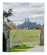 Peace In The Country  Fleece Blanket