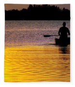 Peace Of Mind Fleece Blanket