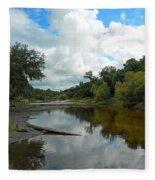Peace River 2 Fleece Blanket