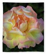 Peace Rose Fleece Blanket