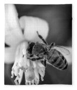 Peaceful Bee Fleece Blanket