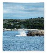Peaceful Cove Fleece Blanket