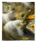 Peaceful Creek Fleece Blanket