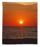 Peaceful Evening Fleece Blanket