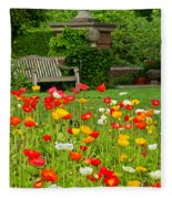 Peaceful Interlude Fleece Blanket