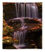 Peaceful Little Falls Fleece Blanket