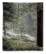 Peaceful Morning Fleece Blanket