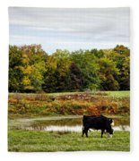 Peaceful Pastures Fleece Blanket