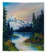 Tranquil Reflections Fleece Blanket