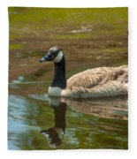 Peaceful Reflections Fleece Blanket