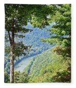 Peaceful River Fleece Blanket