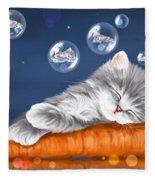 Peaceful Sleep Fleece Blanket