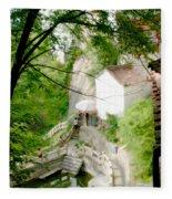 Peaceful Spot In China Fleece Blanket