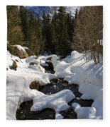 Peaceful View Fleece Blanket