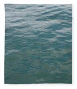 Peaceful Water Fleece Blanket