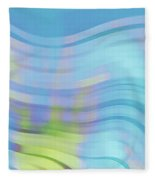 Peaceful Waves Fleece Blanket
