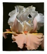 Peach Elegance Fleece Blanket