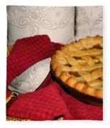 Peach Pie Fleece Blanket