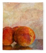 Peach Trio  Fleece Blanket